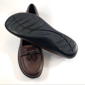 Clarks Shoes - CLARKS Ultimate Comfort Collection Brown Leather